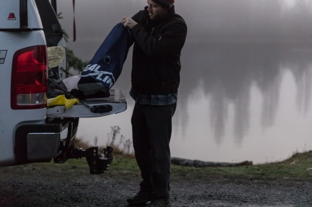Cascade Design's SeaLine dry bags, seakayaking in Seattle, WA