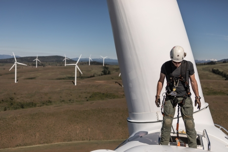 © Cameron Karsten Photography for Kittitas Wind Farm near Ellensurg, WA