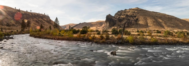 The Nature Conservancy explores the Tieton River property in Naches, WA