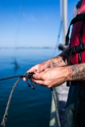 © Cameron Karsten Photography for The Nature Conservancy's photographing reef netting with Riley Starks of Lummi Island Wild on Lummi Island, WA